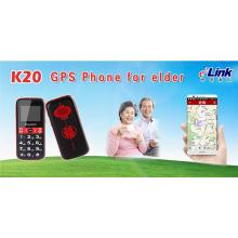 Elderly Phone with GPS tracking and monitoring system