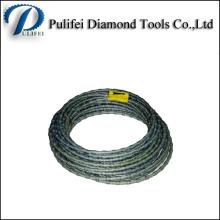 Высокая эффективность мокрые веревочки провода пила для резки камней