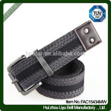 Factory Fashion Striped Men's Sport Canvas Belt