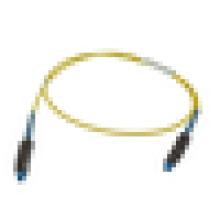 MU-MU Singlemode Simplex Cable de fibra óptica / cable de conexión, puente de fibra óptica