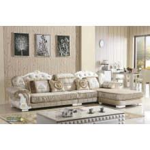 Estilo nobre tecido sofá, sofá de Europa (2078)