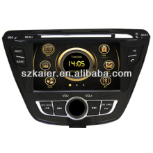 Hot wince 6.0 car dvd player for Hyundai 2013 Elantra with GPS/Bluetooth/Radio/SWC/Virtual 6CD/3G internet/ATV/iPod/DVR