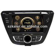 Горячая вздрагивания 6.0 DVD-плеер автомобиля для Хюндай Элантра 2013 с GPS/Bluetooth/Рейдио/swc/фактически 6 КД/3G интернет/квадроциклов/ставку/видеорегистратор