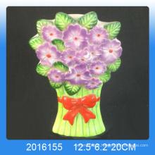 Decoração para casa design de flores Umidificador de ar cerâmico