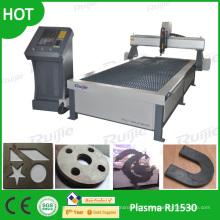 Costume de machine de coupeur de plasma d'industrie de commande numérique par ordinateur pour le métal Rj1530