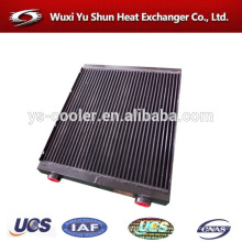 plant custom made aluminum bar&plate oil cooler assembly