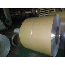 Hoja de revestimiento de aluminio con papel Kraft para aislamiento