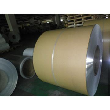 Feuille de revêtement en aluminium avec papier Kraft pour l'isolation