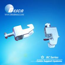 Braçadeira elétrica do canal do suporte / braçadeira da tubulação / braçadeira do tubo