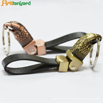 Coole Leder Schlüsselanhänger mit Kundenlogo
