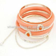 Pulsera de perlas de imitación de moda Multilayers pulseras FB15