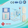 Antimicrobial hemodialysis catheter full kit