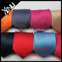Cravates tissées à la main en soie tissées par Jacquard de noeud parfait en gros
