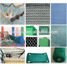 Green HDPE Construction Safety Net , Building Scaffolding Net