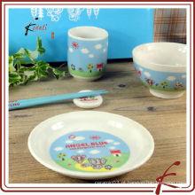 Dinnerware infantil de cerâmica de design novo