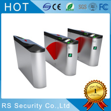 Airport Data Entry Flap Barrier Gate Turnstile