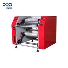 Good Price 1.87KW 3 inch Semi Automatic Electric Stretch Film Rewinding Machine