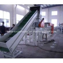 Línea plástica de la máquina de reciclaje de la película de la basura PP / PE 300-1000kg