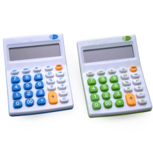12 Digits Colorful Electronic Office Desktop Calculator