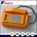 Telefones ao ar livre e à prova de clima Knsp-18LCD Kntech