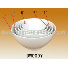 Factory direct wholesale 5pcs ceramic pasta serving bowl