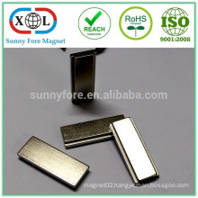 permanent block rectangle N50 neodymium magnets for sale