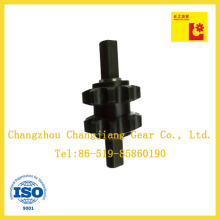 Transmission Chemical Black Finished Drive Propeller Shaft with Two Sprockets