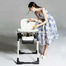 Multi-fonction Belle conception K et D Baby High Chair Plastic pour le restaurant