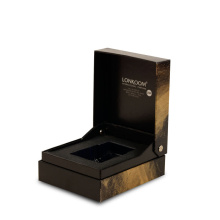 Luxury Rigid Paper Clamshell Gift Box for DVD