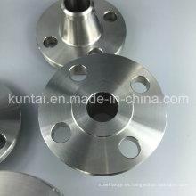 Reborde forjado del tubo del cuello de la soldadura del bastidor del acero inoxidable del ANSI DIN (KT0375)