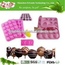 Convenient food grade newly silicone chocolate mold