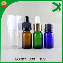 Vidro Dropper Garrafa âmbar garrafa de óleo essencial Brown Garrafa de vidro