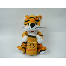 Plush Tiger Pot Money