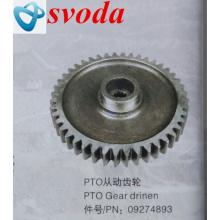 Terex spare parts PTO driven gear 09274893