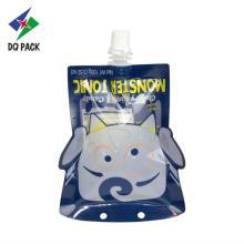 Doypack de jus de forme spéciale d'emballage en plastique Danqing
