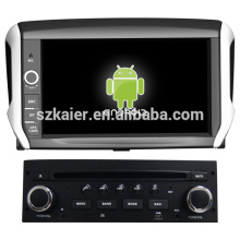 capacitive screen dual core android 4.2 O.S car gps for Peugeot 208 with GPS/Bluetooth/TV/3G/WIFI