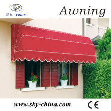 Durable Electric Polyester Retractable Aluminum Awnings
