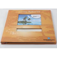 Álbum de recuerdos de álbum de recortes de papel de impresión al por mayor