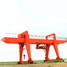 electric 20 ton double beam gantry crane