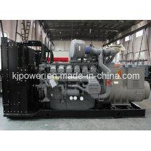 Geração de energia silenciosa 1000kw com motor diesel Perkins