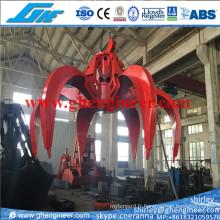 Crochet hydraulique pour déchets solides municipaux Msw 8m3 10m3