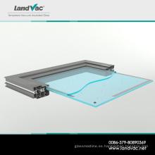 Ladrillo de vidrio al vacío de alto vacío y congelador Landglass