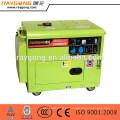 Sistemas de generador de energía silencioso 5kw