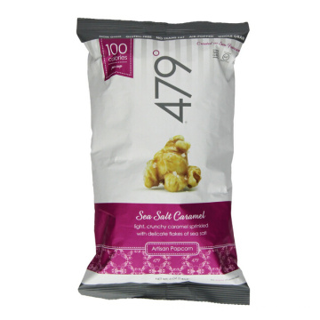 Back Sealed Poocorn Bag, Laminated Food Bag Wholesale
