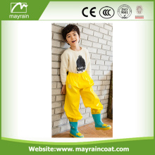 Popular PU Raincoat PU Rain Jacket Pants