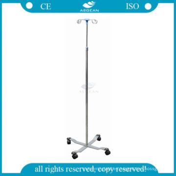 Soporte de infusión para equipos médicos AG-SS009 Soporte de goteo para hospitales