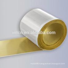 thermostat materials silver copper trimetal contact strip