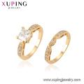 15441 Xuping Bijoux en gros New Design Ring Set avec anneau en or 18K