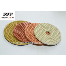 Hot diamond resin granite/marble/concrete polishing pads