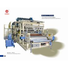 Machine de film d'emballage en plastique à la main noire